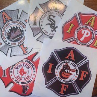 IAFF MLB Decals
