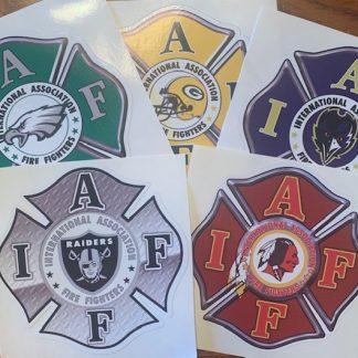 IAFF NFL Decals