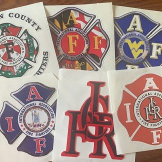 IAFF Special Decals